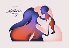 Mothers Day Silhouette Vector Abstract All Free Vector, Free Vector Graphics, Business Logo Creator, Mothers Day Drawings, Free Banner Templates, Mothers Day Poster, Mothersday Cards, Banner Vector, Vector Photo
