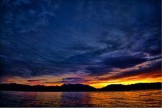 Sunrise over Lake Utah