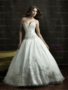 Cinderella ballgown wedding dress