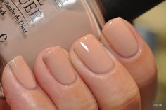 How about a couple neutrals? OPI Let Them Eat Rice Cake - Oooh this is lovely! The formula is a bit of a pain, but with patience, 3 coats ...