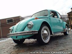 '72 Aqua Blue Beetle = Dream Car!