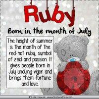 Ruby-July ♡ Tatty Teddy tjn