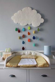 Decoração para quartos de bebê/criança: Decorações facéis