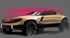 Concept Design Sketch by Leandro Trovati