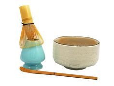 Matcha Tea Starter Set with White Bowl