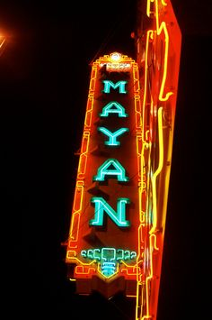 Mayan Theater  Denver, Colorado