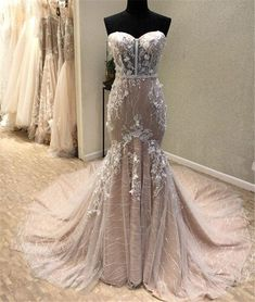Custom Made Absorbing Prom Dresses Lace, Prom Dresses Long, Mermaid Prom Dresses Bridesmaid Dresses Plus Size, Unique Prom Dresses, Sweet 16 Dresses, Wedding Dresses For Sale, Cheap Wedding Dress, Wedding Gowns, Mermaid Evening Dresses, Dress Lace, Tulle Lace