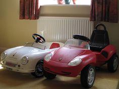 Porsche pedal cars