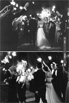 sparkler exit | CHECK OUT MORE IDEAS AT WEDDINGPINS.NET | #weddings #weddinginspiration #inspirational