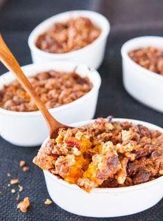 Ruth's Chris Sweet Potato Casserole Recipe ~ http://steamykitchen.com