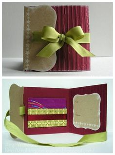 Gift Card Holder by Aimes - Cards and Paper Crafts at Splitcoaststampers