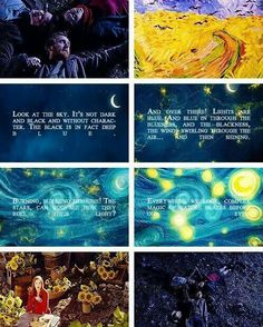 Doctor Who and Vincent van Gogh