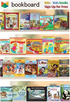 Bookboard offers books for kids