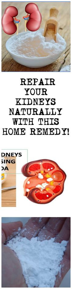 REPAIR YOUR KIDNEYS NATURALLY WITH THIS HOME REMEDY!
