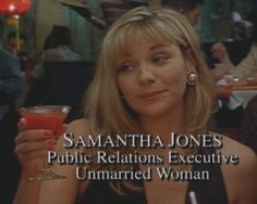 You actually expect people to compare you to Samantha from Sex and the City by this point. | 25 Surefire Signs You Work In PR