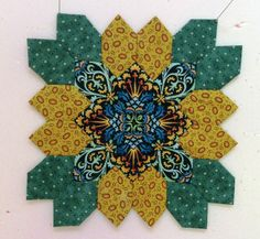 Annie, Block 1 - Lucy Boston POTC Blog Along from Little Quilts