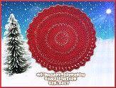 Gehäkeltes Weihnachtsdeckchen - einfach