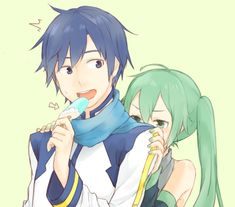 Vocaloid, Vocaloid Kaito, Kawaii, Miku, Artist, Motivational Art, Iroha, Anime, Manga