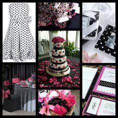 Wedding Themes for March, April: Polka Dot Dillards Wedding Registry, Wedding Themes, Wedding Ideas, Wedding Stuff, Polka Dot Wedding, Bridal Salon, Photographic Studio, Wedding Reception, Dream Wedding