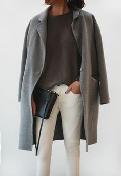 No Need To Retire Your White Denim - Add Layers & Fall Neutrals