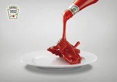 GOT HEINZ... GOT FOOD by AO STUDIO, via Behance