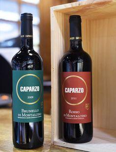 Caparzo Brunello di Montalcino & Rosso di Montalcino excellent & reasonable Italian Reds