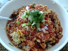 Tex-Mex Chicken Bowl~Slow cooker recipe