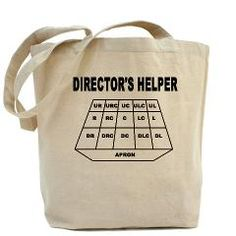 In case you need a reminder. Director's Helper Tote Bag> Other Props> Bluey and Cool Theatre Wear