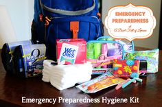 Emergency preparedness in 8 steps. One of the things I hate to think about but know I should.