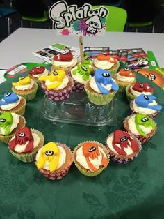 Splatoon cakes for an event #Nintendo