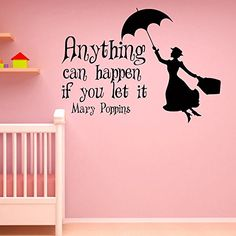 Tinkerbell Vinyl Wall Decal Little Princess Silhouette Fairy Girl Bedroom Wall Decals Stickers Baby Nursery Wall Art Kids Room Decor Q066