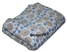 New King Kantha Quilt Handmade Cotton Bedspread bed throw bed cover Bedding Kantha Quilt, Quilts, Kantha Stitch, Quilted Bedspreads, Cotton Throws, Bed Throws, Bed Covers, Art Deco Fashion, Bed Spreads