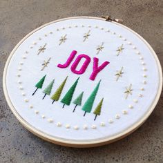 Joy Embroidery | Flickr - Photo Sharing!