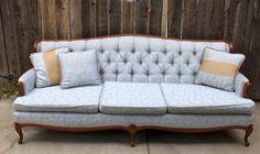 Vintage Regency Style Sofa
