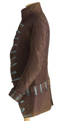 Coat (image 2) | Spain | 1785-1800 | silk, lace | Textilteca CDMT | Museum #: 11848