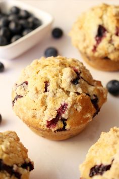 Cupcakes, Cupcake Cakes, Good Food, Yummy Food, Blueberry Recipes, Breakfast Muffins, Cake Boss, Blue Berry Muffins, Mini Cakes
