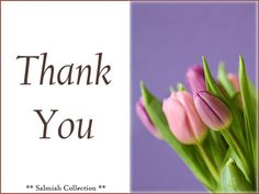 Salmiah Collection: Thank You Card 22