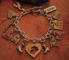#marine charm bracelet. might get this for my sister-in-law or mom.  love it!