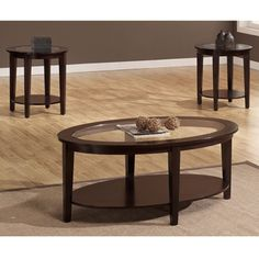 Oval Table Set