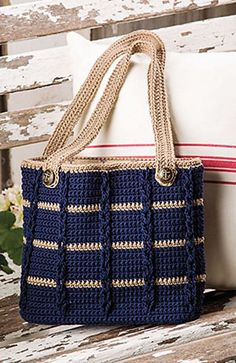 "Ravelry: Anchors Aweigh Tote by Kathy Olivarez ""Anchors Aweigh Tote pattern by Kathy Olivarez by billie"", ""Discover thousands of images about"""