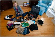 How to pack for 10 days in a carry on! (Click on the pic to open the slideshow)