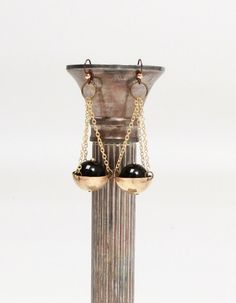 Libra ♎ earrings... need i say more (for moi)? Black Onyx Libra Earrings