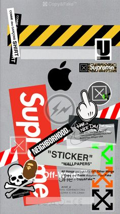 Stikers iPhone Hintergrundbild off white wallpaper Stikers iPhone Hintergrundbild off white wallpaper Iphone Wallpaper Off White, Graffiti Wallpaper Iphone, Supreme Iphone Wallpaper, Nike Wallpaper Iphone, Ps Wallpaper, Iphone Homescreen Wallpaper, Iphone Background Wallpaper, Aesthetic Iphone Wallpaper, Hypebeast Iphone Wallpaper