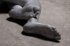 YU HYEON JEONG aluminum wire. fiberglass.lifecasting, 1400 X 540 X 300(mm),2009.