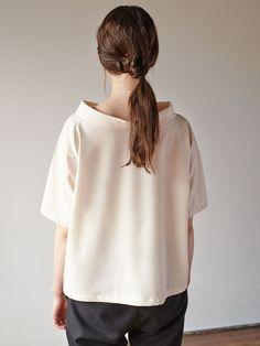 Lu. - Women's Apparel - Understory Top No.1 - Creamier