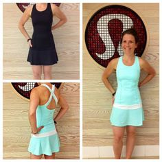 Hot Hitter Dress (lululemon tennis line, summer 2013)
