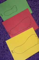 Kindergarten Measurement Activities: Foot Fun: A Measurement Activity
