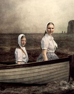 Cooper & Gorfer / The White Boat, 2014 From the series The Weather Diaries #theweatherdiaries #coopergorfer #art #photography #faroeislands #Gudrun&Gudrun