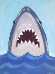 Image result for fish painting canvas projects for kids