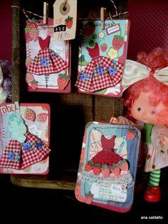 Ana Caldatto : Boneca Coleção Moranguinho